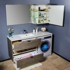 Зеркальный шкаф с сенсорным выключателем Vivara